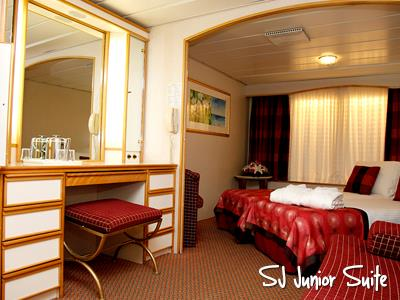 celestyal olympia cruises sj junior suite kabin