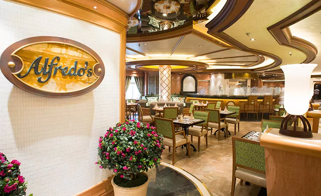 regal princess alfredos pizza