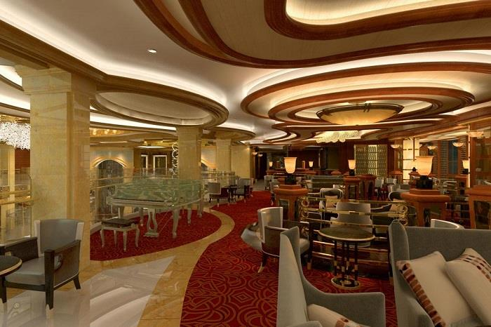 regal princess corners bar
