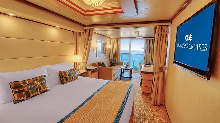 regal princess mini suite