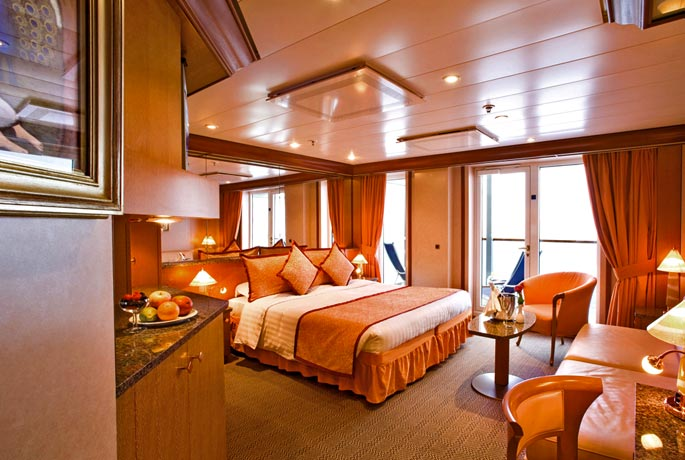 Costa Mediterranea Grand Suite Kabin