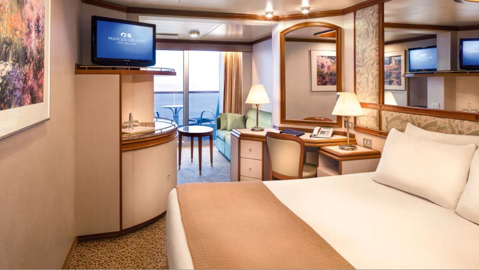 Golden Princess Mini Suite