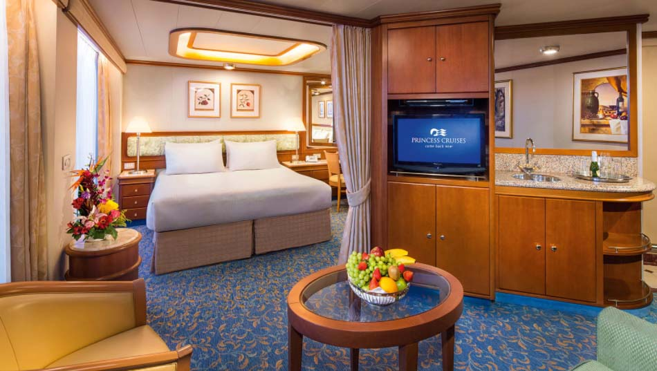 Golden Princess Suite