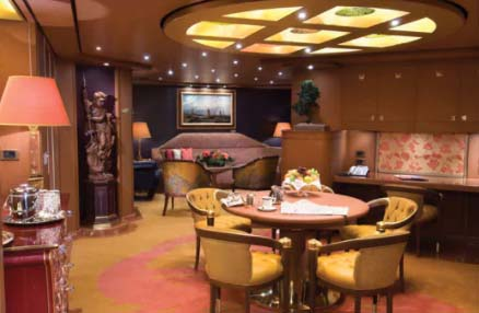 Hollanda America Nieuw Amsterdam Pinnacle Suite